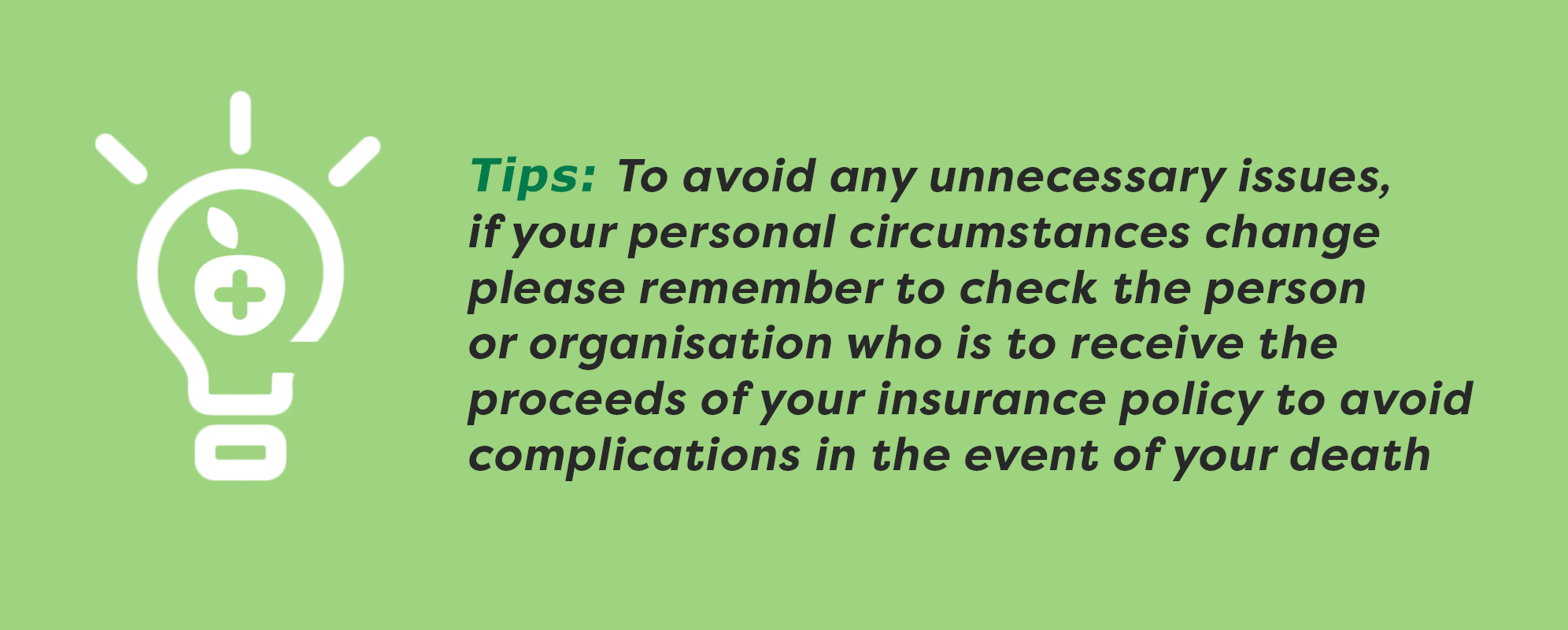 life insurance tip 3-1