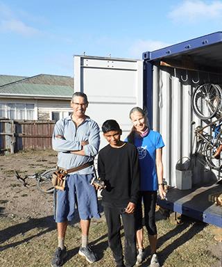 Meg Christie - Aranui Bike Fix up