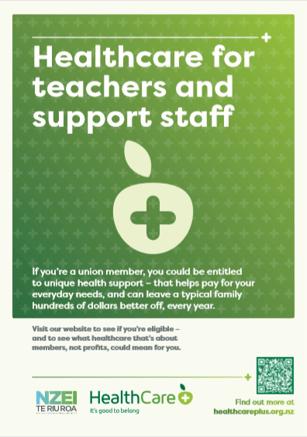 NZEI poster - healthcare
