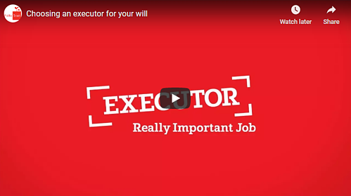 online wills - choose an executor
